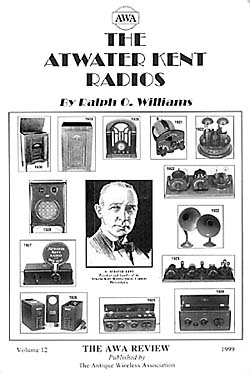 Atwater Kent Radios Book Cover