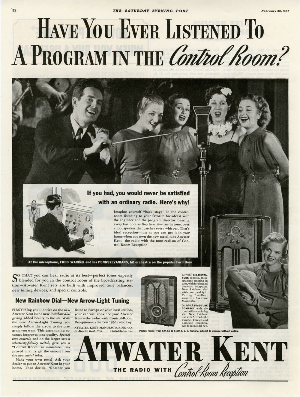 A-K - The Saturday Evening Post Magazine Advertisement